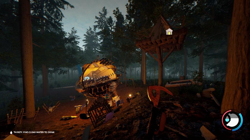 The Forest - fare un riparo