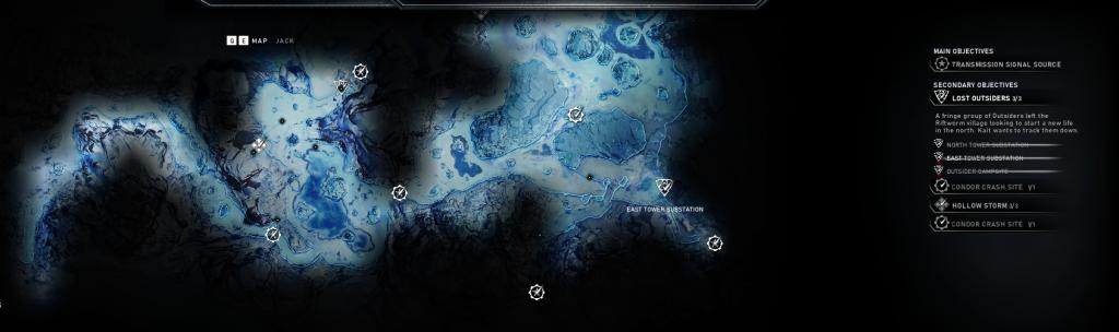 Mappa gears 5 - l'arte della guerra